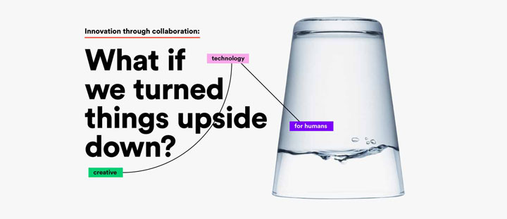 Innovation through collaboration, what if we turned things upside down?