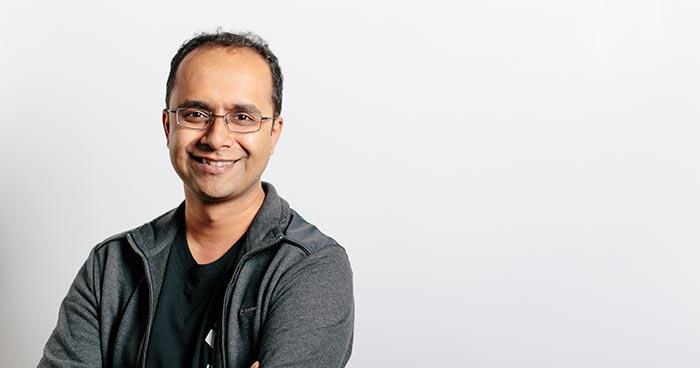 Ashik Ahmed headshot with blank white background