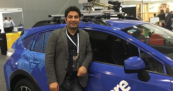Ali Aien at a trade event