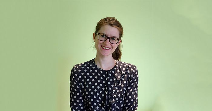 Anna Magennis smiling