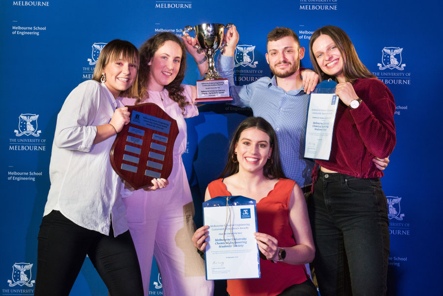Student Club of the Year winners